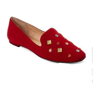 KATY PERRY THE TURNER LOAFER FLATS W/GEMS